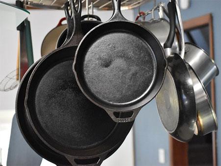 особенности использования чугунной посуды