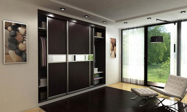 Особенности встроенных шкафов